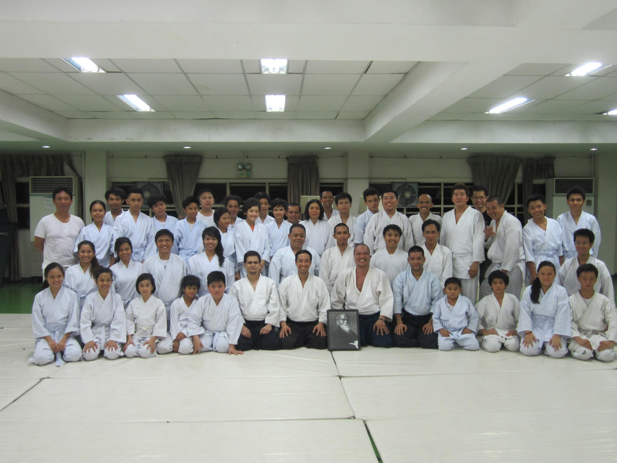 Sacred Heart Aikido Center Cebu – 8th Anniversary Celebration