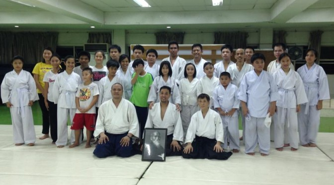 Sacred Heart Aikido Center – Cebu 9th Year Anniversary