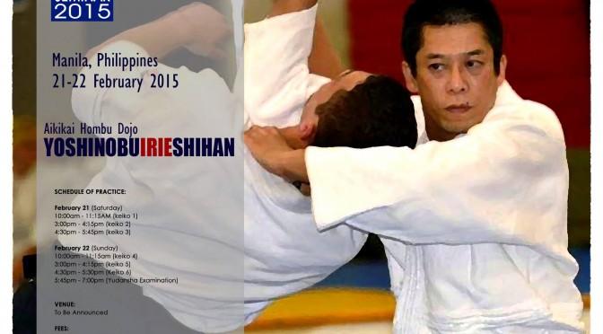 Yoshinobu Irie Shihan Seminar Photos